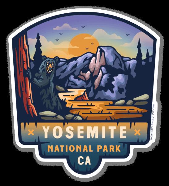 Yosemite NP sticker