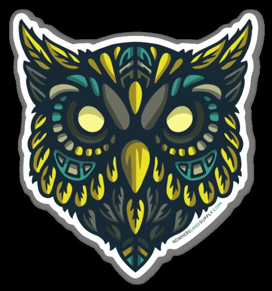 Night Watch Owl sticker