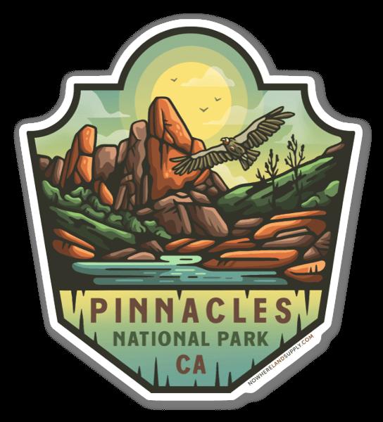 Pinnacles NP sticker