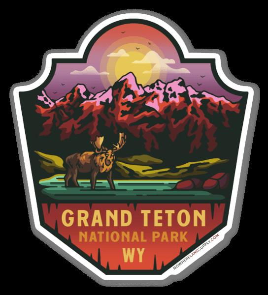 Grand Teton NP sticker