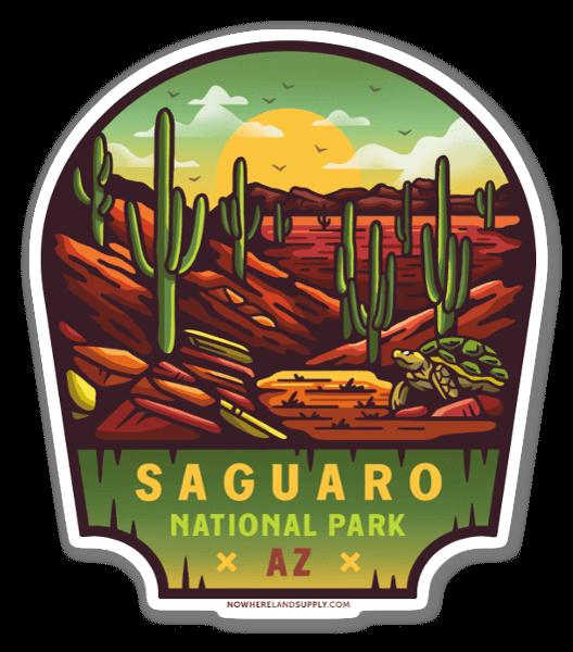 Saguaro NP sticker