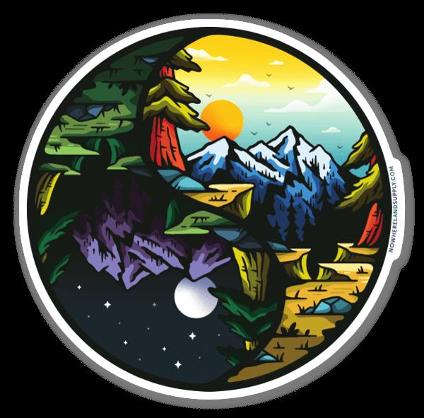 Equilibrio sticker