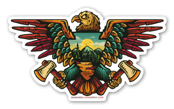 Eagle Outdoors sticker