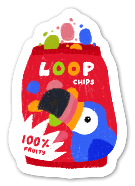 Chips sticker