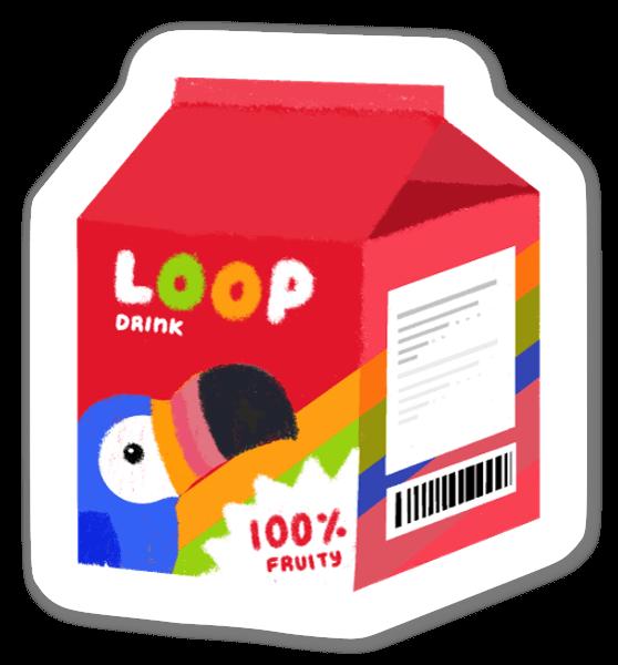 Drink sticker
