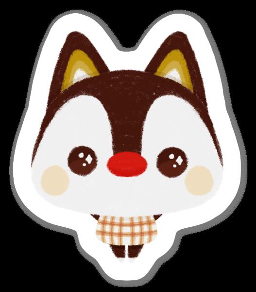 Cute Animated Cat sticker