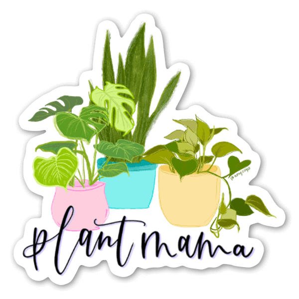Plant Mama Sticker