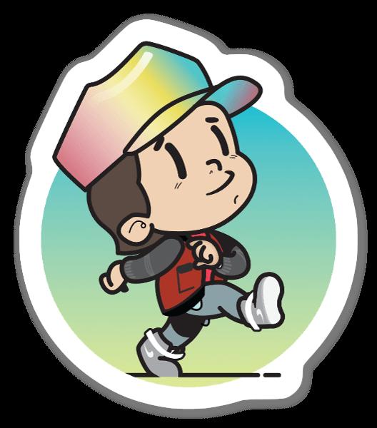 Kid Marty 2015 sticker
