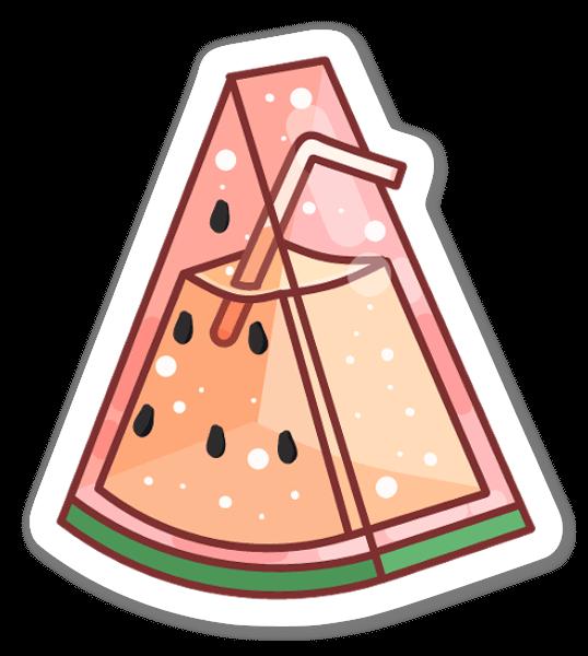 Watermelon Juice sticker