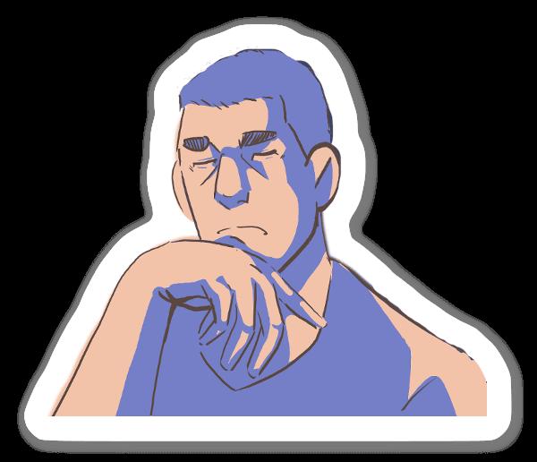 Assonnato sticker
