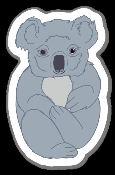 Koala Bear Cuddles sticker