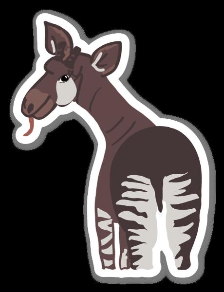 Okapi sticker