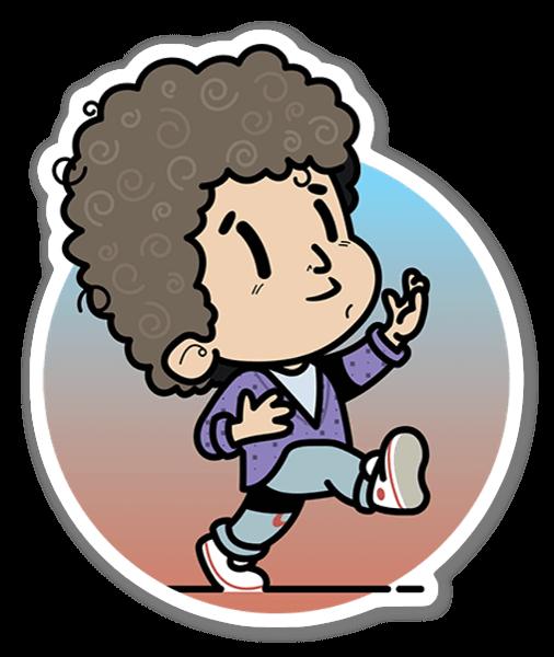 KID BILL sticker