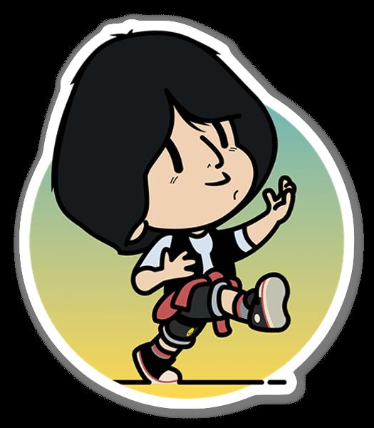 KID TED sticker