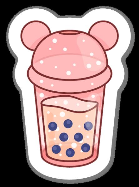 Bubbletea sticker