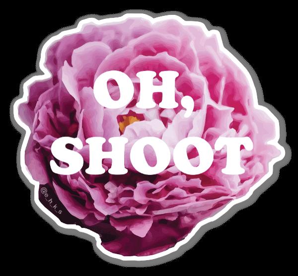 Floral Shoot sticker