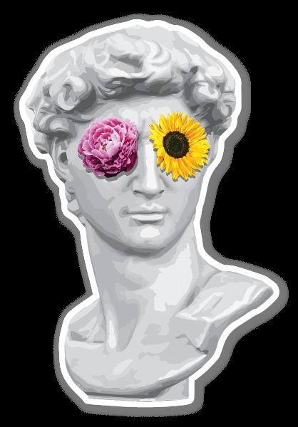 Blind David sticker
