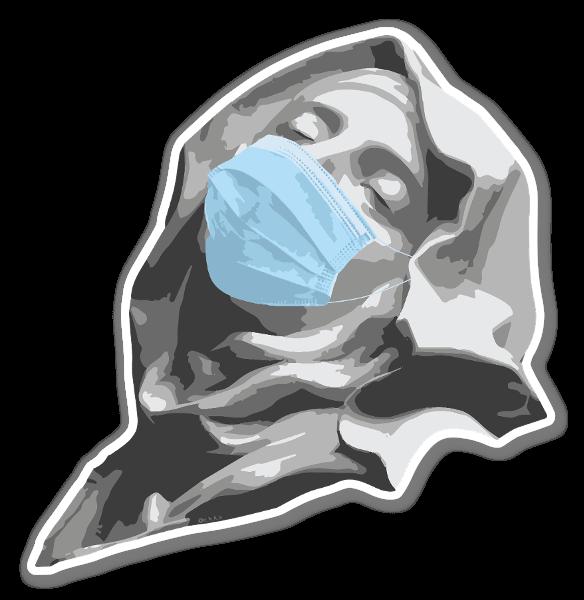 Quarantine of St Teresa sticker