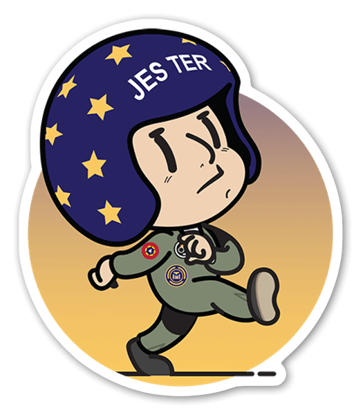 KID JESTER sticker