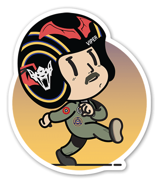 KID VIPER sticker