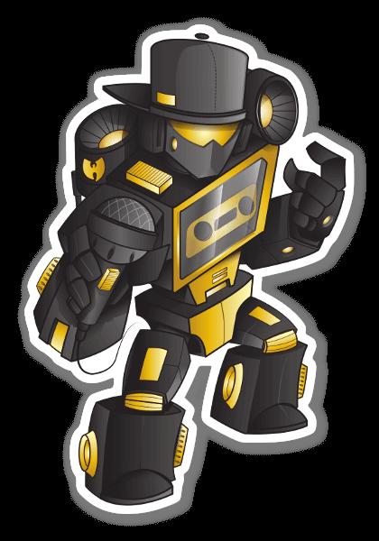 WU Transformers sticker
