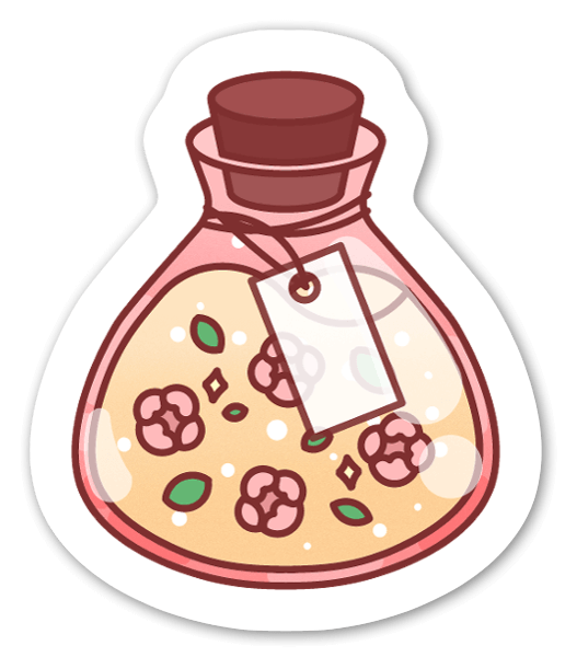 Potion sticker