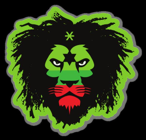 Lion Roots  sticker