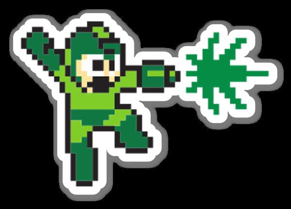 Weed Man sticker