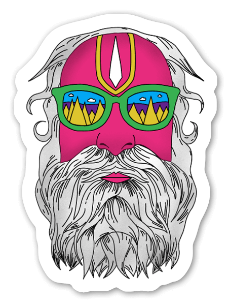 Uncle Cool sticker