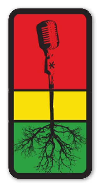 Mic Roots sticker