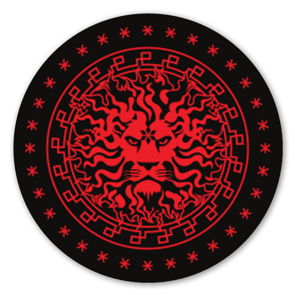 Imperial Lion Seal sticker