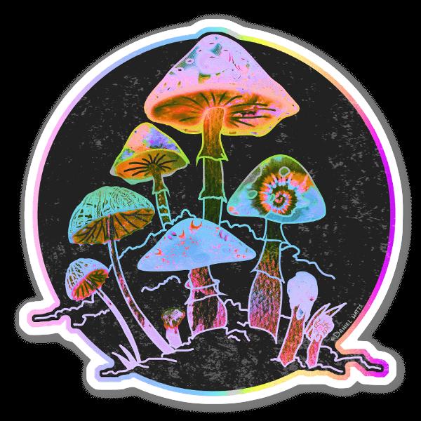 Giardino di funghi 2020 sticker