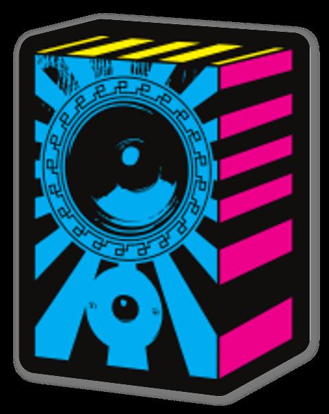 Sound Rays sticker