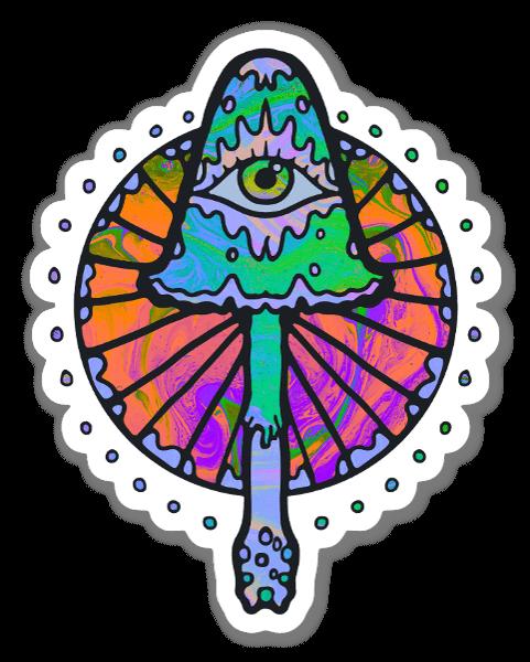 Third Eye Shroom sticker