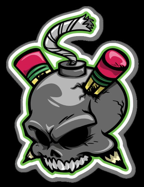 COD Logo sticker