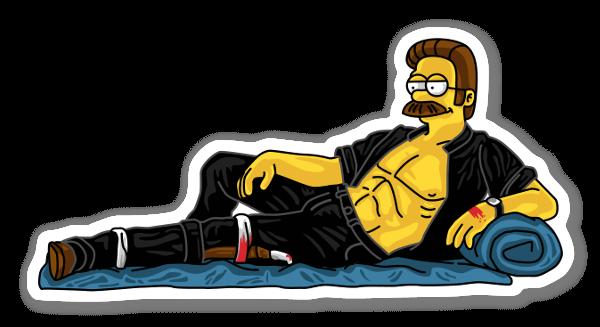 Sexy Flanders sticker