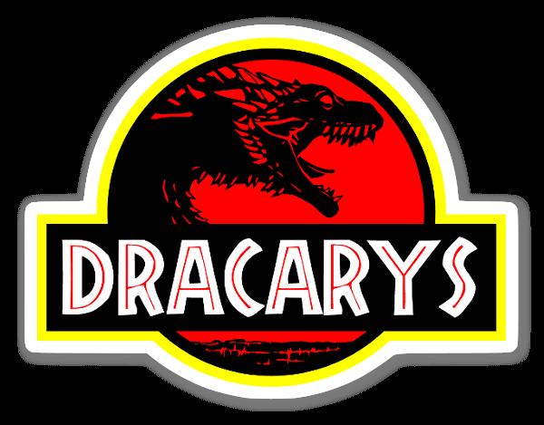 Jurrassic Dracarys sticker