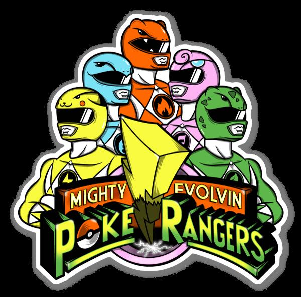 Poke Rangers sticker
