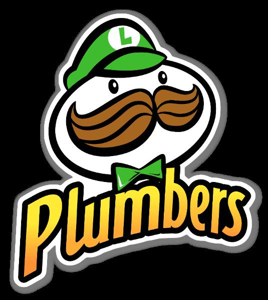 Luigi Chips sticker