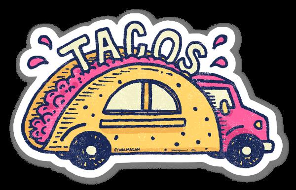 Taco Truck sticker