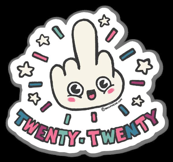 Twenty - Twenty sticker