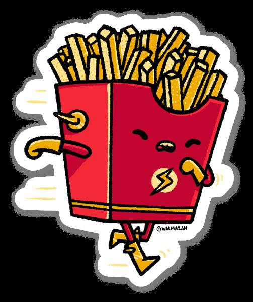 Fast Food sticker