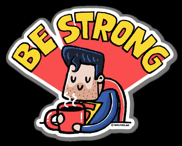 És mais forte do que pensas sticker