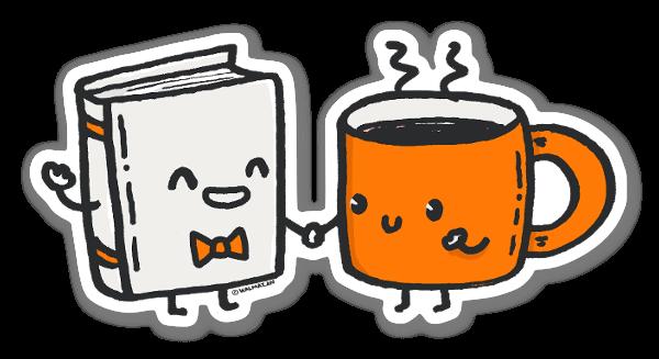 The Nerd and The Hottie sticker