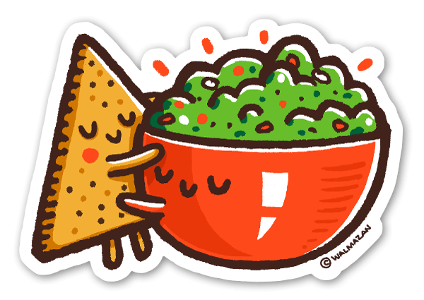 Guacamole & Tortilhas sticker