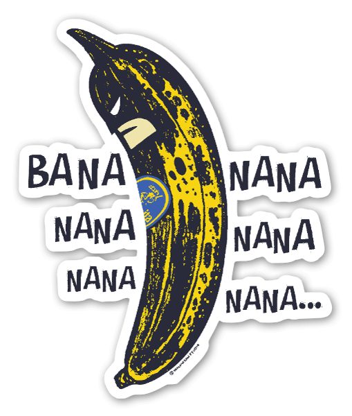 バナ ナナ ナナ ステッカー