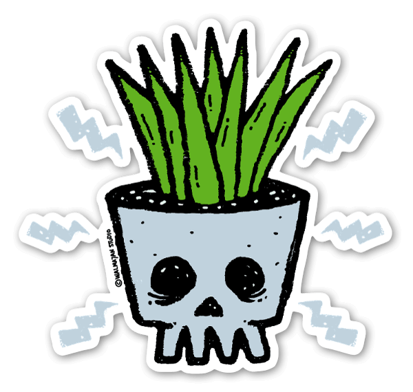 Punk by Nature sticker