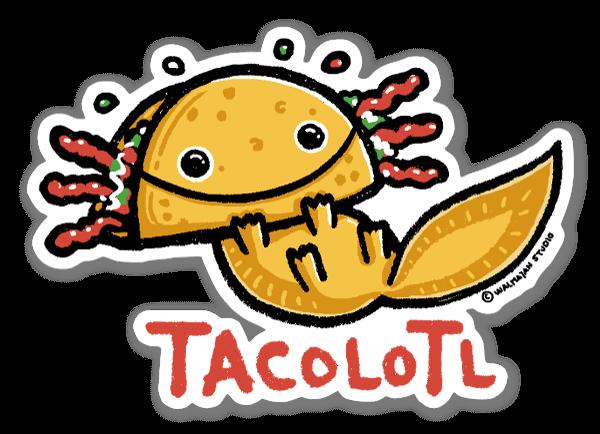 Tacolotl naklejka