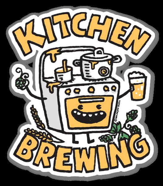 Kitchen Brewing sticker