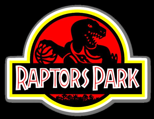 Raptors Park sticker